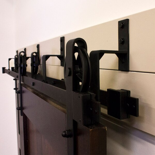 By-Pass Barn Door Hardware by Custom Service Hardware