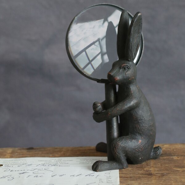 Englishcombe Magnifier Figurine by Charlton Home
