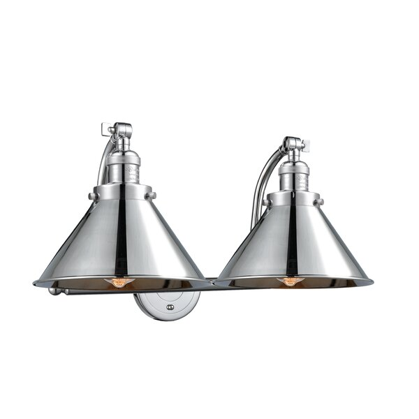 Stonecrest 2 Light Vanity Light [Laurel Foundry Modern Farmhouse]
