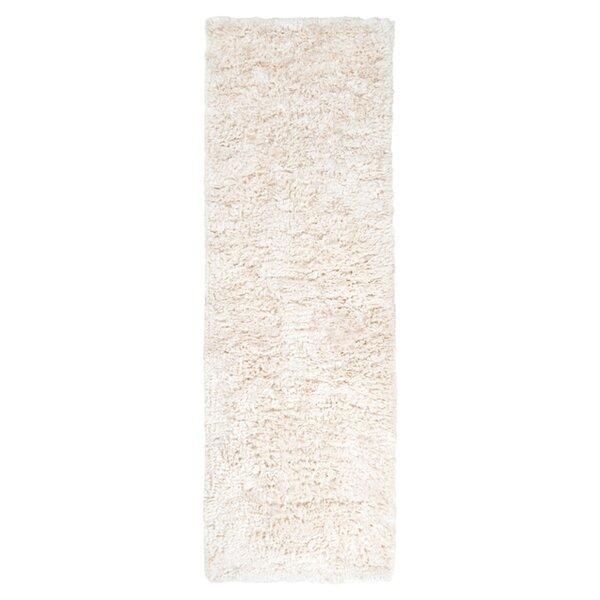 Gaston Handmade Flatweave Wool Ivory Area Rug