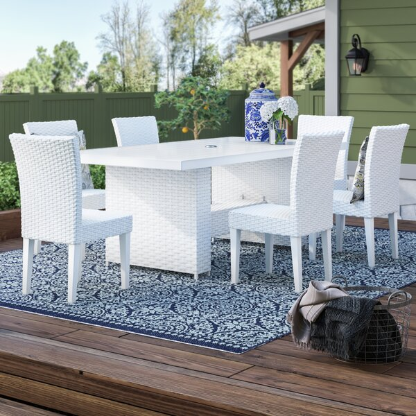 Menifee 7 Piece Dining Set By Sol 72 Outdoor