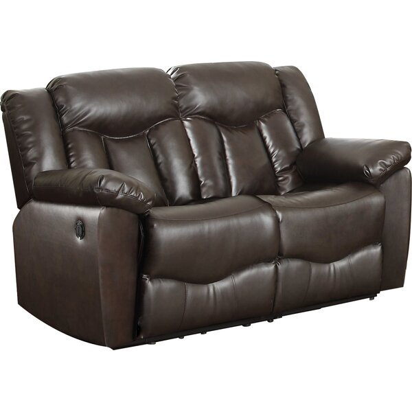 Get Valuable James Motion Reclining Loveseat by Nathaniel Home by Nathaniel Home