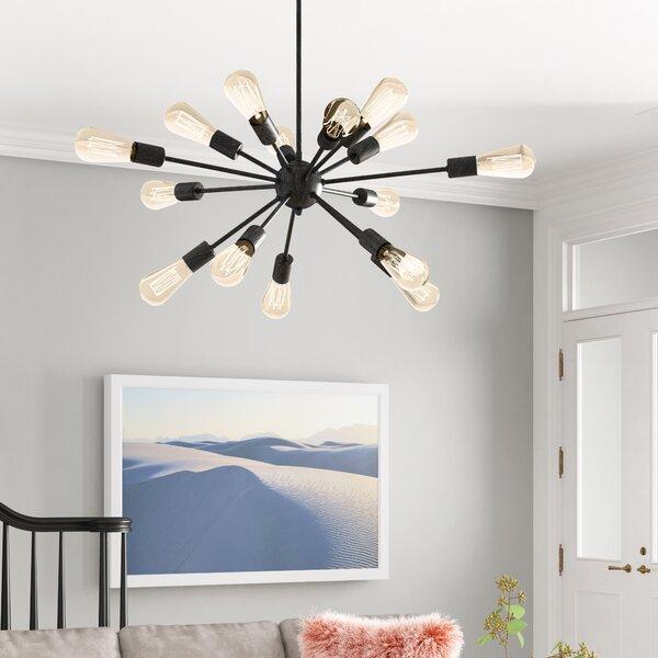 Kaylen 15 - Light Sputnik Sphere Chandelier By Foundstone