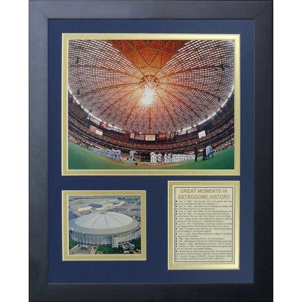 Houston Astros Astrodome Framed Memorabilia by Legends Never Die