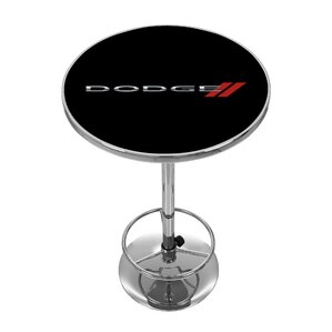 Dodge Logo Pub Table by Trademark Global