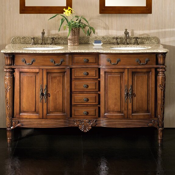 Karen 60 Double Bathroom Vanity Set by Ove Decors