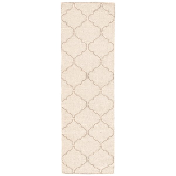 Wilder Antique White Moroccan Area Rug by Mercer41