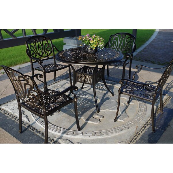 Royal Isle 5 Piece Dining Set by Blue Wave Products
