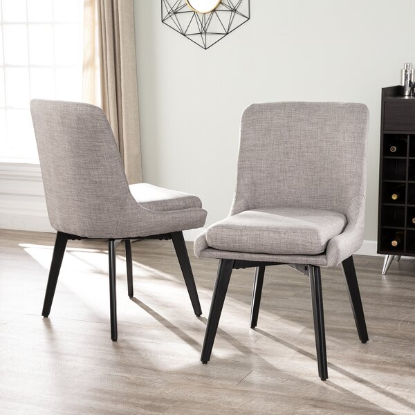 Defiance Upholstered Dining Chair (Set of 2) by Modern Rustic Interiors