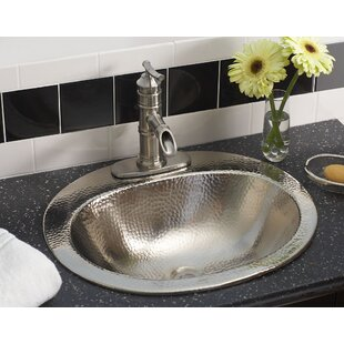 Buying Dalton Metal Oval Undermount Bathroom Sink with Overflow By Sinkology