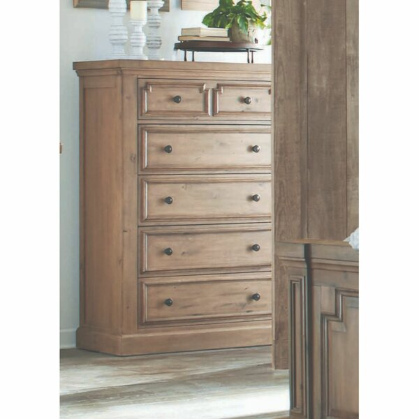 Dowd Wooden 5 Drawer Chest by Darby Home Co