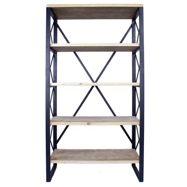 Hogansville 5 Shelf Etagere Bookcase by Foundry Select