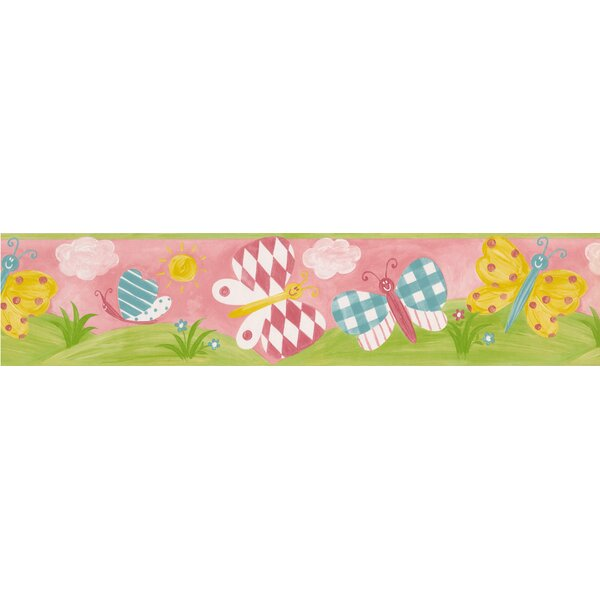 Ankrum Colorful Butterflies Wall Border by Zoomie Kids
