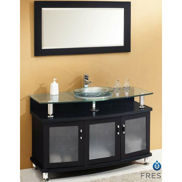 Classico Contento 47 Single Bathroom Vanity Set with Mirror by Fresca