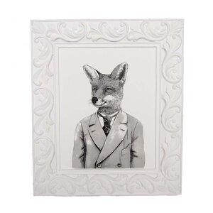 Fox Framed Graphic Art by Sagebrook Home