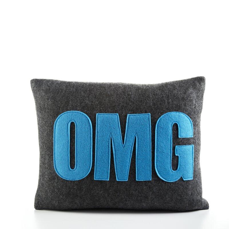 Wayfair Modern Pillow : Alexandra Ferguson Modern Lexicon
