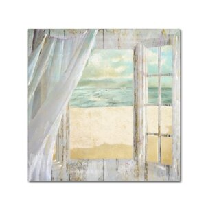 'Summer Me I' by Color Bakery Painting Print on Wrapped Canvas by Trademark Fine Art