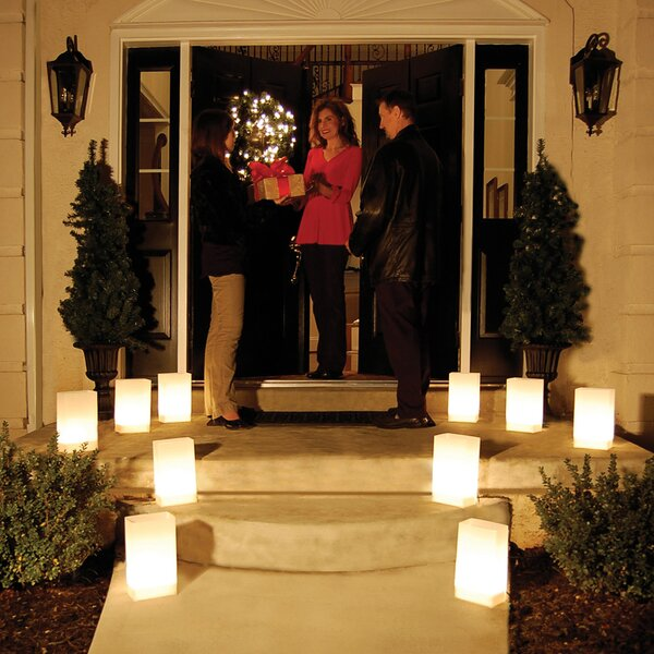 Flameless LumaLite 6 Light Luminary by Luminarias