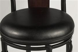 Hillsdale Midtown 24 5 Quot Swivel Bar Stool With Cushion