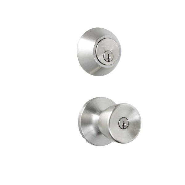 Tulip Double Cylinder Entrance Knobset by Honeywell