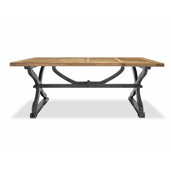 Wetherby Solid Wood Dining Table By Loon Peak