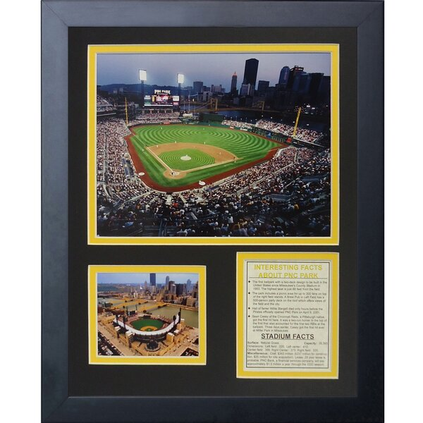 Pittsburgh Pirates PNC Park Framed Memorabilia by Legends Never Die