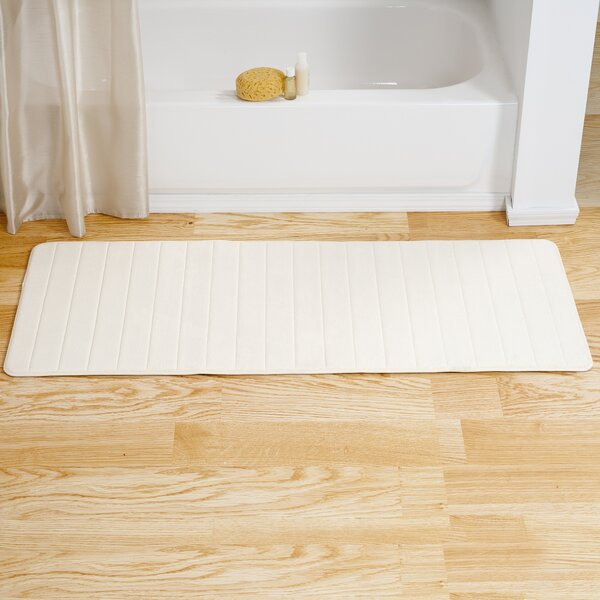 Long Multiple Non-Slip Striped Bath Rug