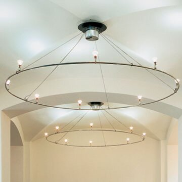 Ring Ceiling Fixture by Bruck Lighting