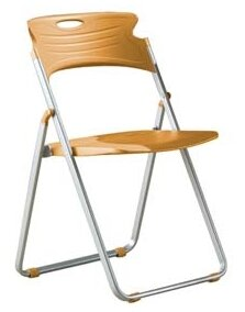 Plastic Folding Chair (Set of 4) by OFM