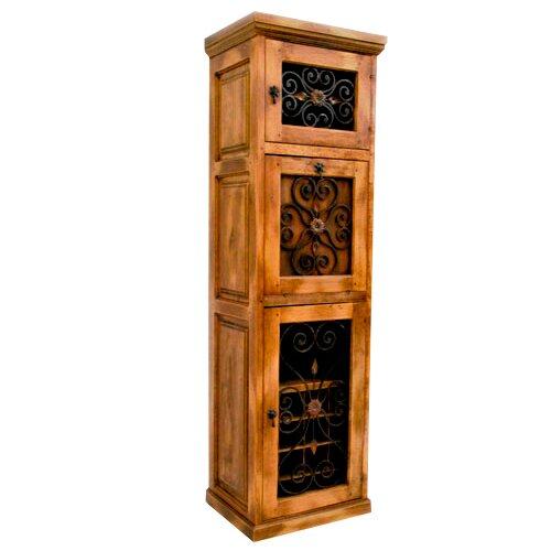 16 Bottle Floor Wine Cabinet By Artesano Home Decor