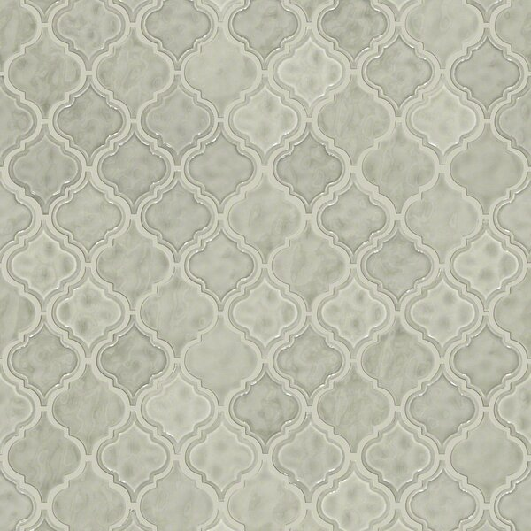 Victoria 2 x 2 Ceramic Mosaic Tile in Taupe by Shaw Floors