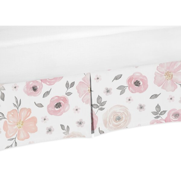 Floral Crib Bed Skirt by Sweet Jojo Designs