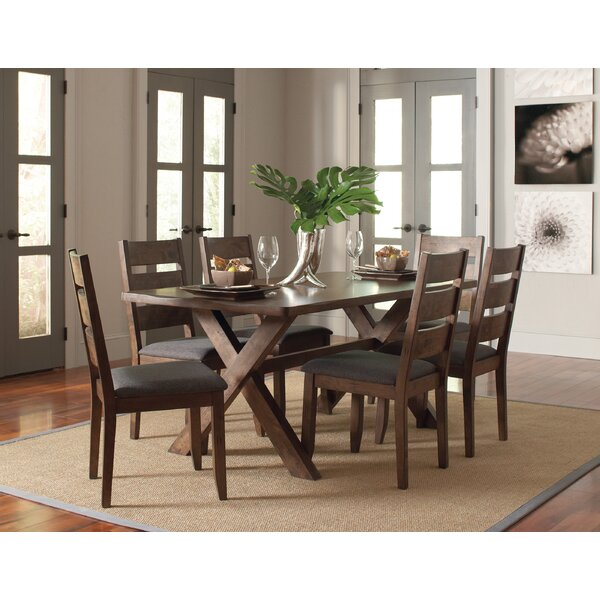 #1 Orland Upholstered Dining Chair (Set Of 2) By Loon Peak Comparison