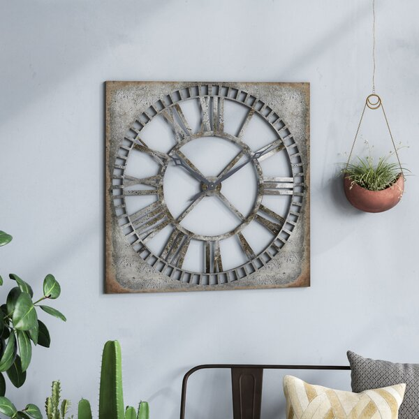 Troy Wall Clock by Trent Austin Design