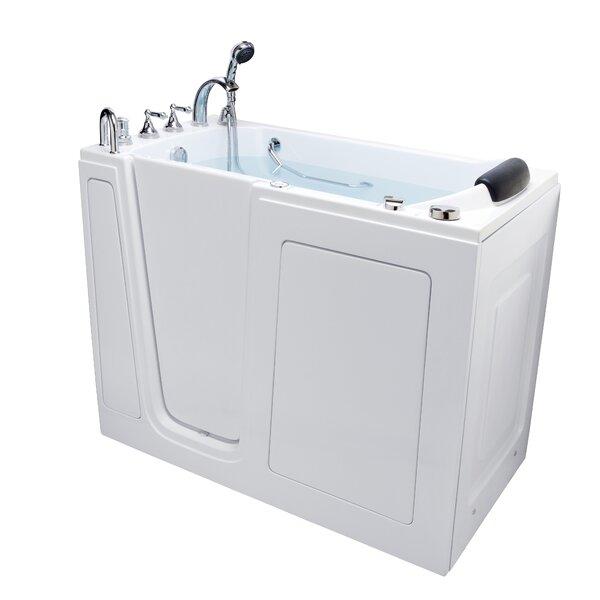 52 x 28 Walk-in Soaking Bathtub by Energy Tubs