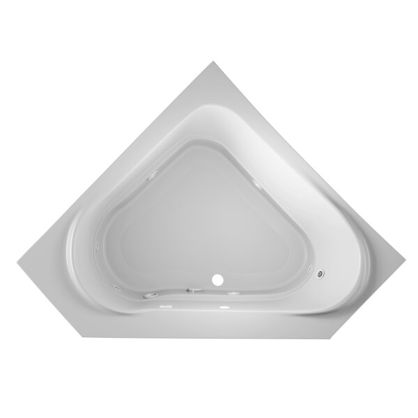 Capella 60 x 60 Drop In Whirlpool Bathtub by Jacuzzi®