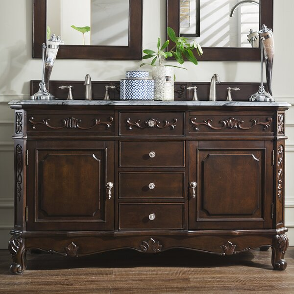 Lathrup 60 Double Bathroom Vanity Set by Astoria Grand