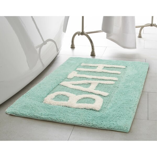 Cotton Bath Rug by Jean Pierre