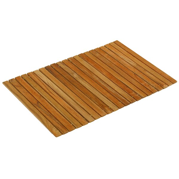 Asi Genuine Teak Wood Flexible Table Top Placemat by Bare Decor