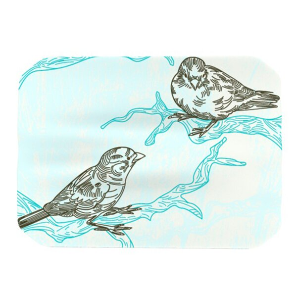 Birds in Trees Placemat by KESS InHouse