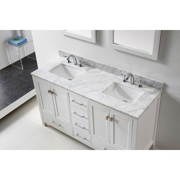 Pichardo  60 Double Bathroom Vanity Set by Brayden Studio
