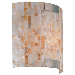 Buy clear Chloe Wall Sconce By Beachcrest Home
