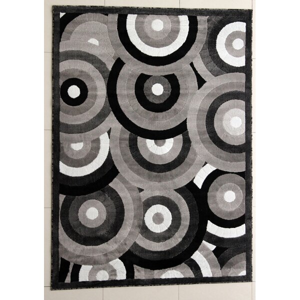 Vidula Dark Gray Area Rug by Orren Ellis