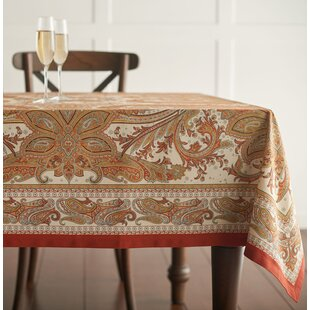 Kashmir Paisley Tablecloth