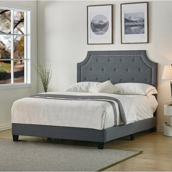 Sisemore Upholstered Standard Bed by Charlton Home
