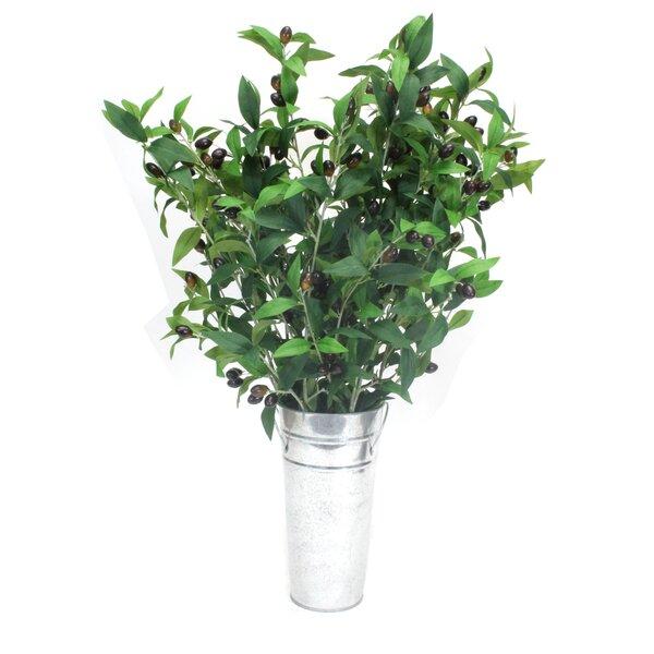 Olive Branches Tree in Decorative Vase by Dalmarko Designs