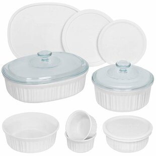 Genial French 12 Container Food Storage Set