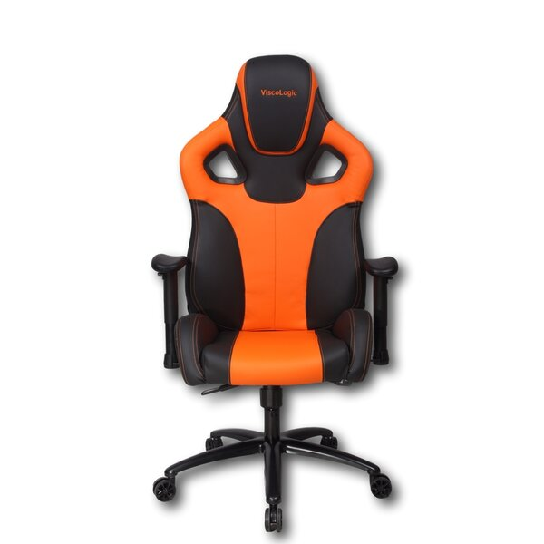 Ybanez Swivel Racing High-Back Gaming Chair by Latitude Run