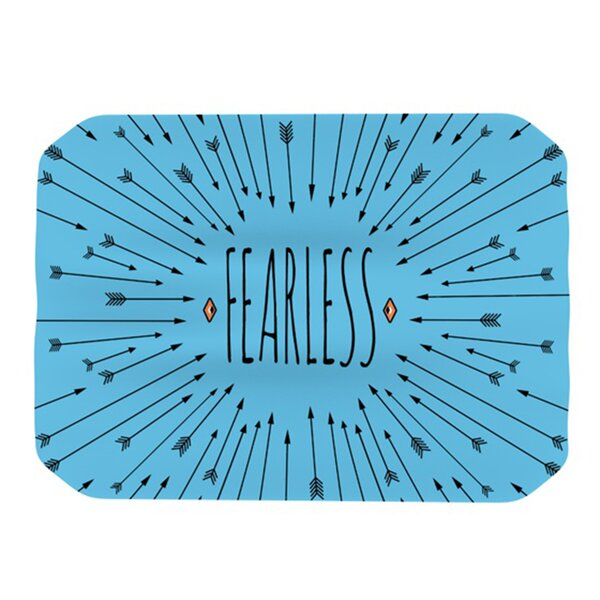 Fearless Placemat by KESS InHouse