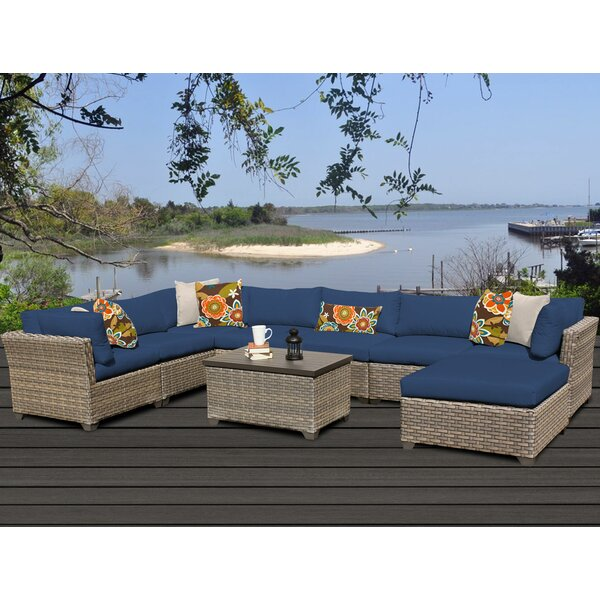 Monterey 9 Piece Sectional Set with Cushions by TK